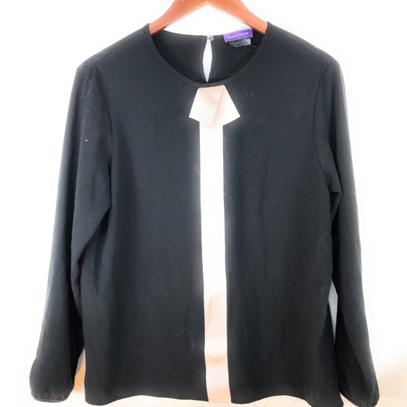 Longchamp Tops - Longchamp Blouse C14
